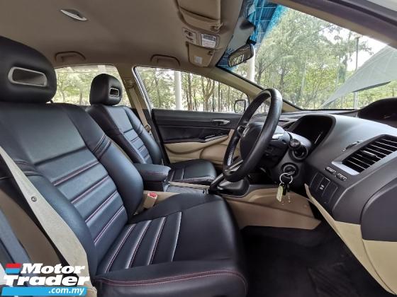 2009 HONDA CIVIC 1.8 S i-VTEC (A) LEATHER SEAT MUGEN RR BODYKIT SUPER CAR KING CONDITION
