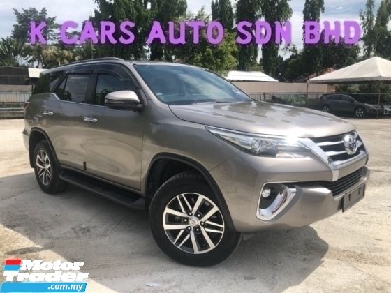 2018 TOYOTA FORTUNER 2.7 SRZ (A) UNDER WARRANTY OTR PRICE