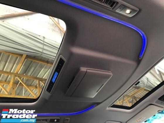 2015 TOYOTA VELLFIRE 2.5 ZG TRD Edition 360 Surround Camera Sun Roof Moon Roof Pilot Seat Power Boot 2 Power Door Unreg
