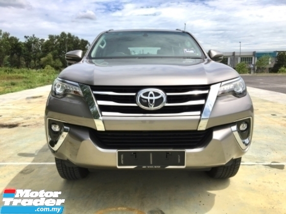 2018 TOYOTA FORTUNER 2.7 SRZ SUV UNDER WARRANTY