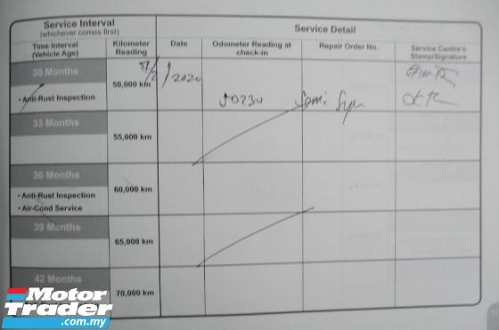 2016 TOYOTA VIOS 1.5 E FACELIFT 50K KM FULL SERVICE RECORD