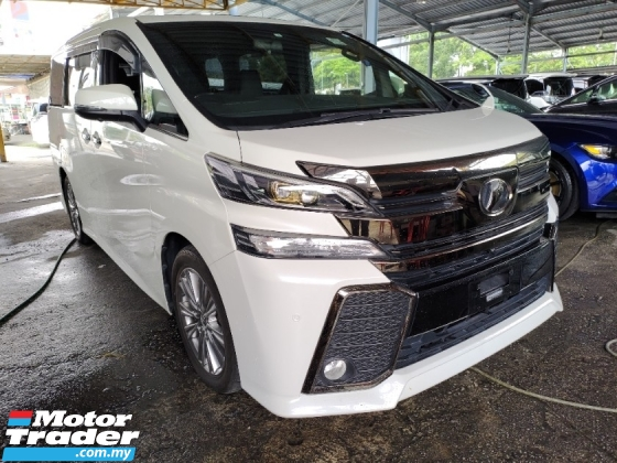2017 TOYOTA VELLFIRE 2.5 GOLDEN EYES SUNROOF PRICE INCLUSIVE SST FREE 2 WARRANTY 360 SURROUND CAMERA