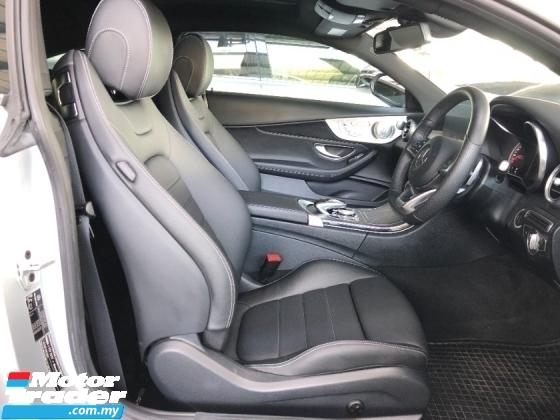2017 MERCEDES-BENZ C-CLASS C200 AMG Premium Coupe 2.0 Turbo Full Spec Panoramic Roof Burmester 3D Surround Memory Seat P/Boot