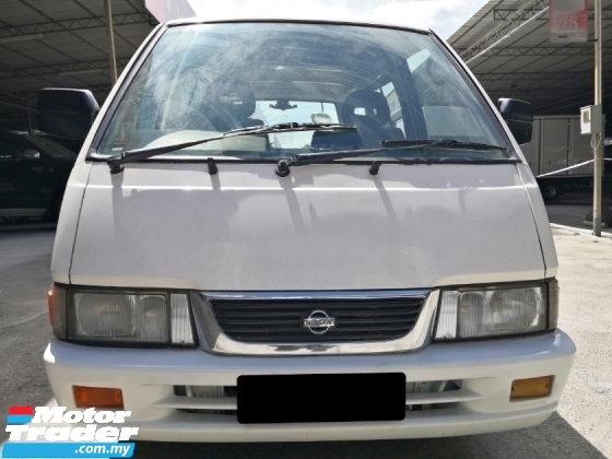 2007 NISSAN VANETTE Nissan Vanette 1.5 MT POWER STEERING WINDOW VAN