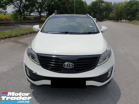 2011 KIA SPORTAGE 2.0 (A) SUV GLS FULL SPEC PUSH START SUNROOF REVERSE CAMERA TIP TOP CONDITION