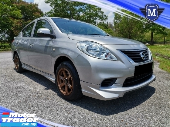 2013 NISSAN ALMERA 1.5 E (A) SPORT RIMS LOW MILEAGE ONE CAREFUL ONWER