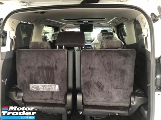 2016 TOYOTA ALPHARD Unreg Toyota Alphard SC 2.5 7seats Sun Roof 360 View Camera Push Start 7G SST Deduction