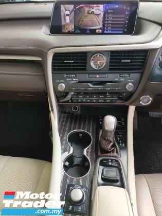 2016 LEXUS RX 200T Luxury Panaromic Roof 4 Cam HUD PCS BSM LKA Leather Unregister
