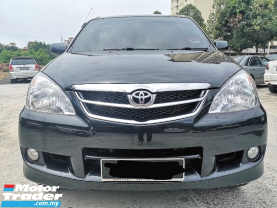 2009 TOYOTA AVANZA 1.5 G FACELIFT 1 OWNER  TIPTOP CONDITION LIKE NEW