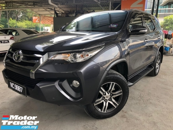 2016 TOYOTA FORTUNER 2.4 VRZ 4x4 (A) NO PROCESSING FEE