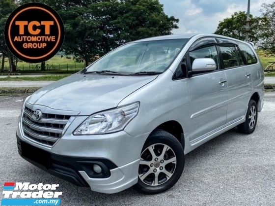 2015 TOYOTA INNOVA 2.0 G FACELIFT FULL LEATHER SEAT FREE WARRANTY MPV