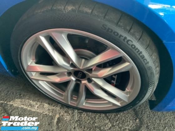 2017 AUDI TTS 2.0 Quattro all wheel drive high power unregistered