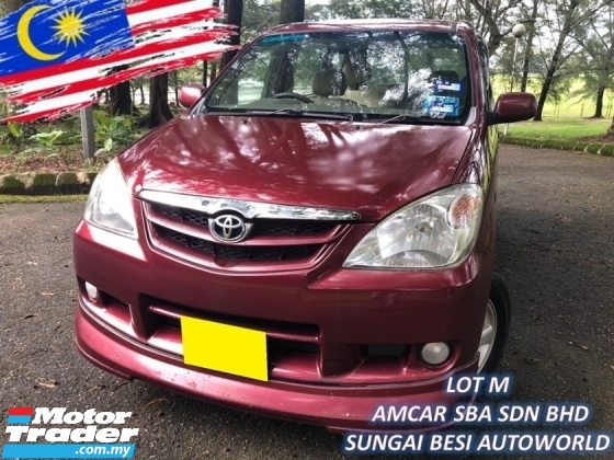 2007 TOYOTA AVANZA 1.3 E FACELIFT (A) ENHANCED SALE