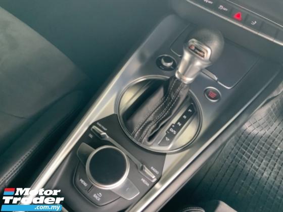 2017 AUDI TT 2.0 TFSI S Line spec push start LED headlamp Alcantara seats Drive select unregistered