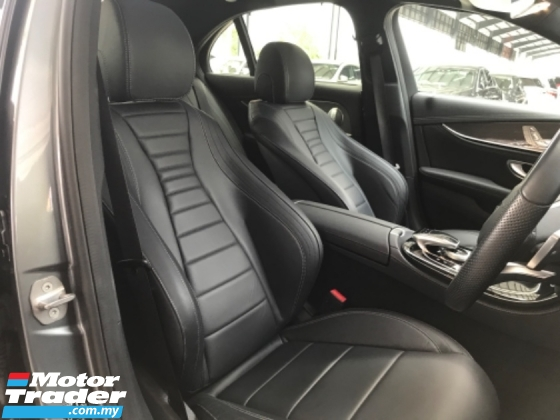 2018 MERCEDES-BENZ E-CLASS E 300 AMG LINE MUST VIEW LOW MILEAGE 18K KM ONLY
