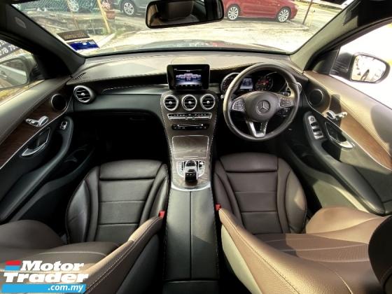 2017 MERCEDES-BENZ GLC 200 2.0 SUV (A) FULL SERVICE RECORD