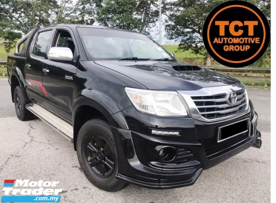 2015 TOYOTA HILUX  2.5 G TRD Sportivo VNT ECHANCED LEATHER SEAT REVERSE CAMERA Pickup Truck