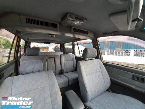 2002 TOYOTA UNSER  1.8 GLi 7 SEAT (M) MPV for SELL