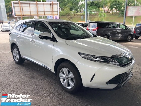 2017 TOYOTA HARRIER 2.0 New Facelift 360 Camera Panoramic Roof Automatic Power Boot Pre-Crash Lane Departure Full LED