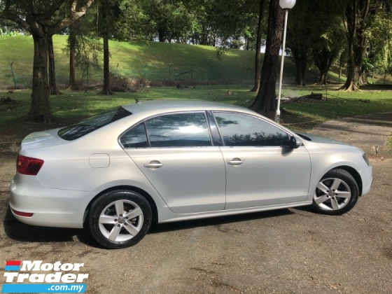 2012 VOLKSWAGEN JETTA 1.4 TSI (CBU) (A) MK6 VOTEX LEATHER SALE