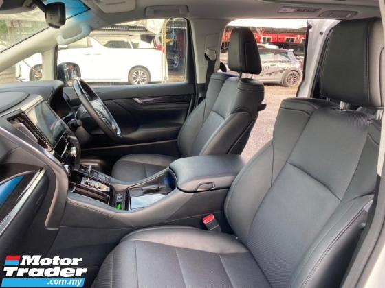 2019 TOYOTA VELLFIRE 2.5 ZG FACELIFT SUNROOF CONDITION LIKE NEW CAR UNREGS