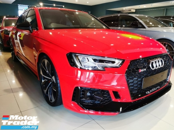 2018 AUDI RS4 BLACK STYLE LIMITED