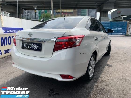 2015 TOYOTA VIOS E SPEC (PROMOTION PRICE) TRUE YEAR PUSH START CAMERA 1 LADY OWNER LIKE NEW