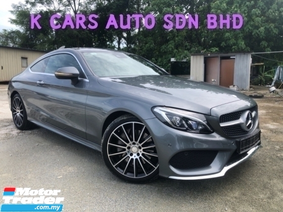 2017 MERCEDES-BENZ C-CLASS C250 COUPE AMG 2.0 EXTENDED WARRANTY OTR PRICE