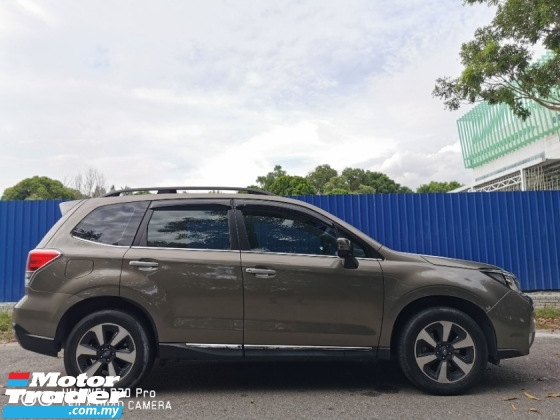 2016 SUBARU FORESTER 2.0 I-P (A) FACELIFT - REG 17 FULL SVC / WARRANTY