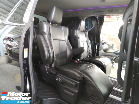 2016 TOYOTA ALPHARD 2.5 S POWER BOOT 360 SURROUND CAMERA PRICE INCLUSIVE SST FREE 2 YEARS WARRANTY