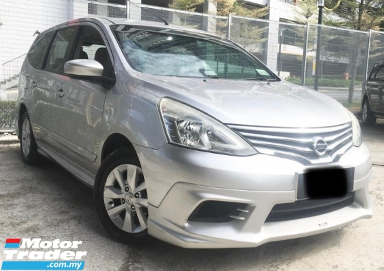 2014 NISSAN GRAND LIVINA 1.6L COMFORT(A)MPV 9LOW MILEAGE)(2 YEAR WARRANTY)