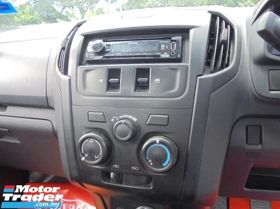 2018 ISUZU D-MAX  2.5 4x4 RT Facelift Single Cab LikeNEW