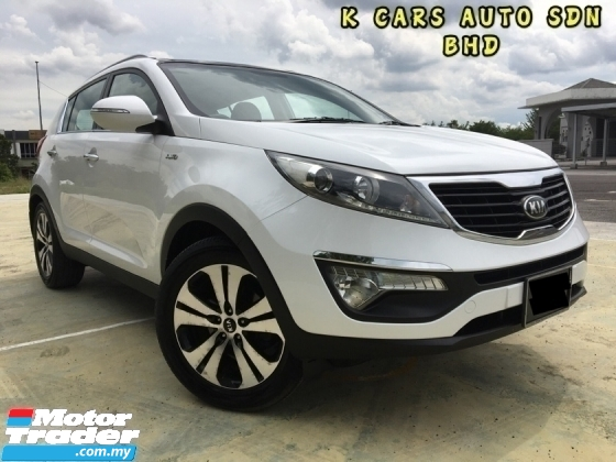 2013 KIA SPORTAGE (SL) 2.0 AT Full Service Record