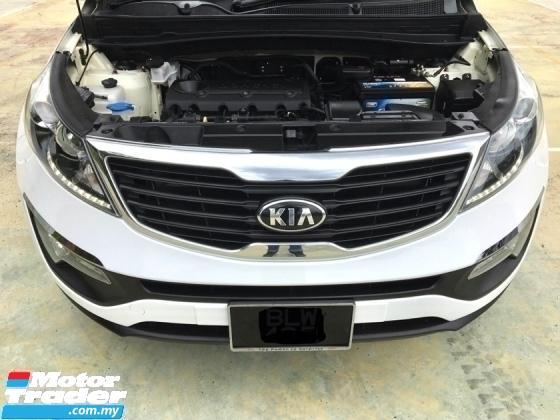 2013 KIA SPORTAGE (SL) 2.0 AT Full Service Record