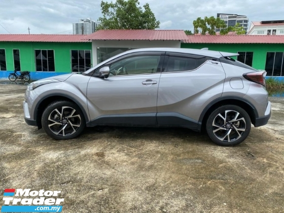 2017 TOYOTA C-HR 1.2 TURBO GT 4WD PRE CRASH LTA FACELIFT JAPAN SPEC UNREGS