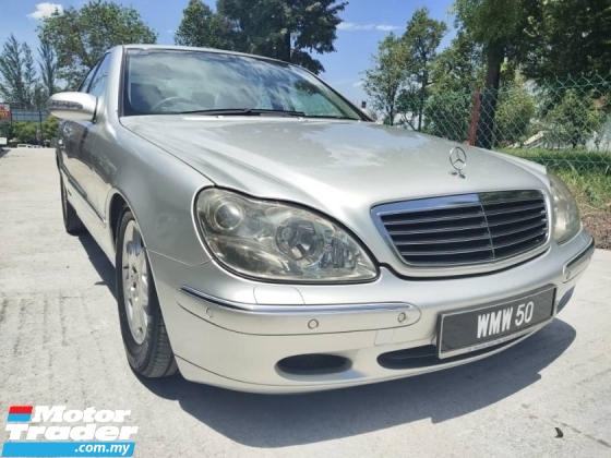 2002 MERCEDES-BENZ S-CLASS 280S 1 VVIP CAREFUL OWNER EXCELLENT IN CONDITION
