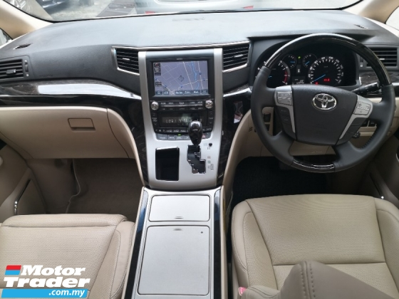 2011 TOYOTA VELLFIRE 3.5 VL New Facelift MADE 2013 ((( FREE 2 YEARS WARRANTY ))) Pilot Seat Modelister Kits Home Theater