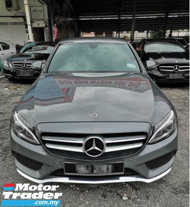 2017 MERCEDES-BENZ C-CLASS C200 2.0 AMG ADVANTGARDE WARRANTY TILL OCT 2021
