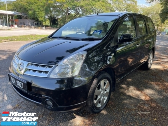 2009 NISSAN GRAND LIVINA IMPUL 1.8L (A) 1 Owner Only TipTop Condition