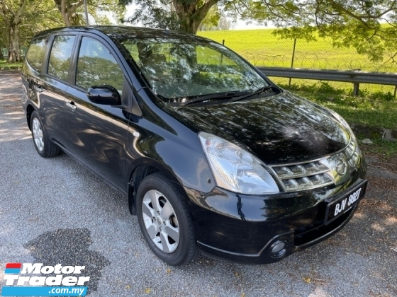 2009 NISSAN GRAND LIVINA LUXURY 1.8L (A) 1 Owner Only TipTop Condition