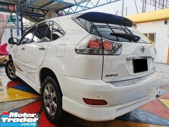 2007 TOYOTA HARRIER Toyota HARRIER 2.4 240G B/KITS DVD RevCAM WARRANTY