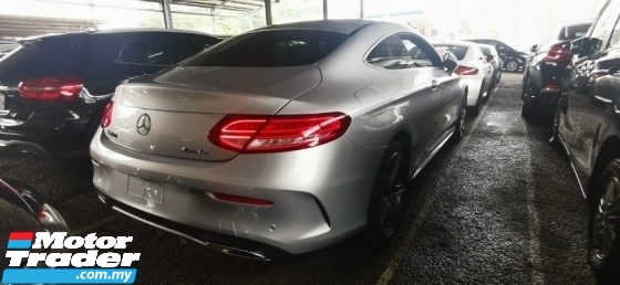 2017 MERCEDES-BENZ C-CLASS C200 AMG COUPE FULLSPEC.UNREGIS.TRUE YEAR CAN PROVE.HALF SST.ORI MILEAGE 3000KM.PANAROMIC ROOF N ETC