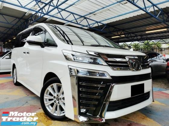 2018 TOYOTA VELLFIRE Toyota VELLFIRE 2.5 ZA LaneKEEPING PRE CRASH UNREG