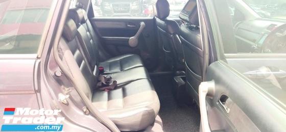 2007 HONDA CR-V 2.0 i-VTEC (A) REG 2007 ACCIDENT FREE MILE 115K KM