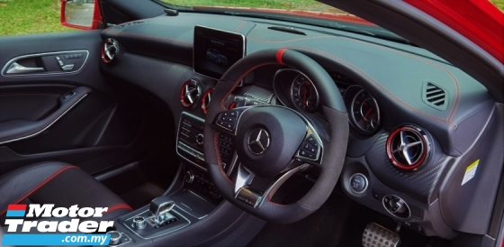 2016 MERCEDES-BENZ A45 2016 MERCEDES BENZ A45 AMG 2.0 TURBO  FACELIFT JAPAN SPEC CAR SELLING PRICE ONLY RM 268,000.00 NEGO