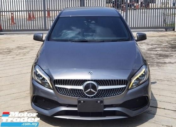 2017 MERCEDES-BENZ A-CLASS 2017 MERCEDES BENZ A180 SE 1.6 TURBO FACELIFT JAPAN SPEC CAR SELLING PRICE ONLY RM 133000.00