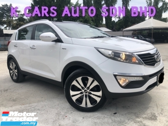 2013 KIA SPORTAGE 2.0 (A) PANORAMIC ROOF CASH REBATE