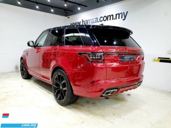 2019 LAND ROVER RANGE ROVER Sports SVR 5.0 SUPERCHARGED