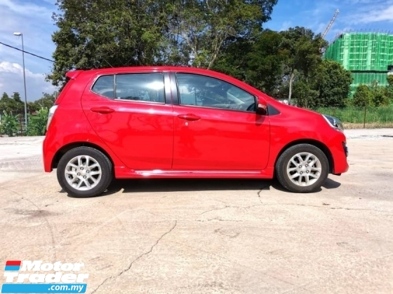 2015 PERODUA AXIA 1.0 Advance (A) ORI PAINT, ANDROID PLAYER WITH GPS