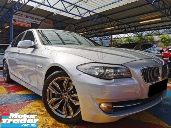 2011 BMW 5 SERIES Bmw 528i F10 3.0 S/ROOF LCi RevCAM HUD GPS WARRNTY